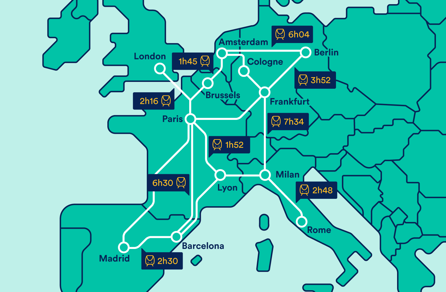 Trains in Europe | Buy European Train Tickets Online | Trainline