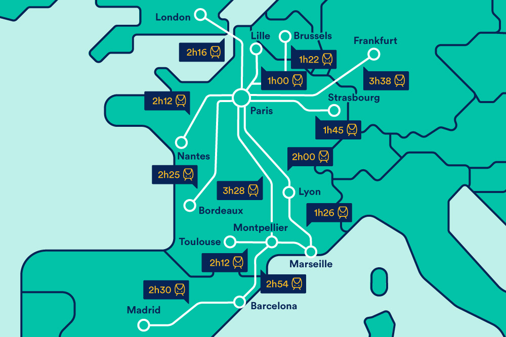 Map Of Trains In France.Trains In France France Train Tickets Trainline